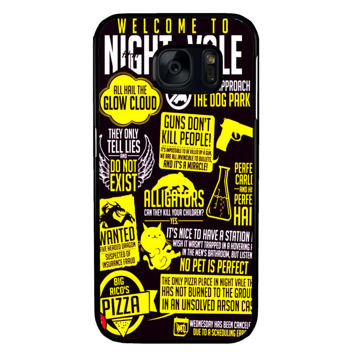 Welcome to Night Vale Quotes A0464 Samsung Galaxy S7 Case New Year Gifts 2020-Samsung Galaxy S7 Cases-Recovery Case