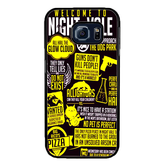 Welcome to Night Vale Quotes A0464 Samsung Galaxy S7 Edge Case New Year Gifts 2020-Samsung Galaxy S7 Edge Cases-Recovery Case