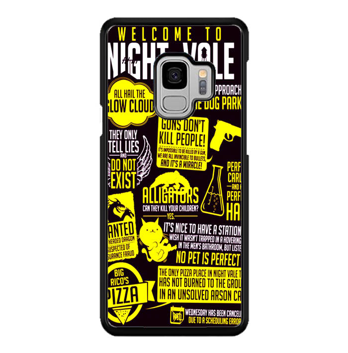 Welcome to Night Vale Quotes A0464 Samsung Galaxy S9 Case New Year Gifts 2020-Samsung Galaxy S9 Cases-Recovery Case