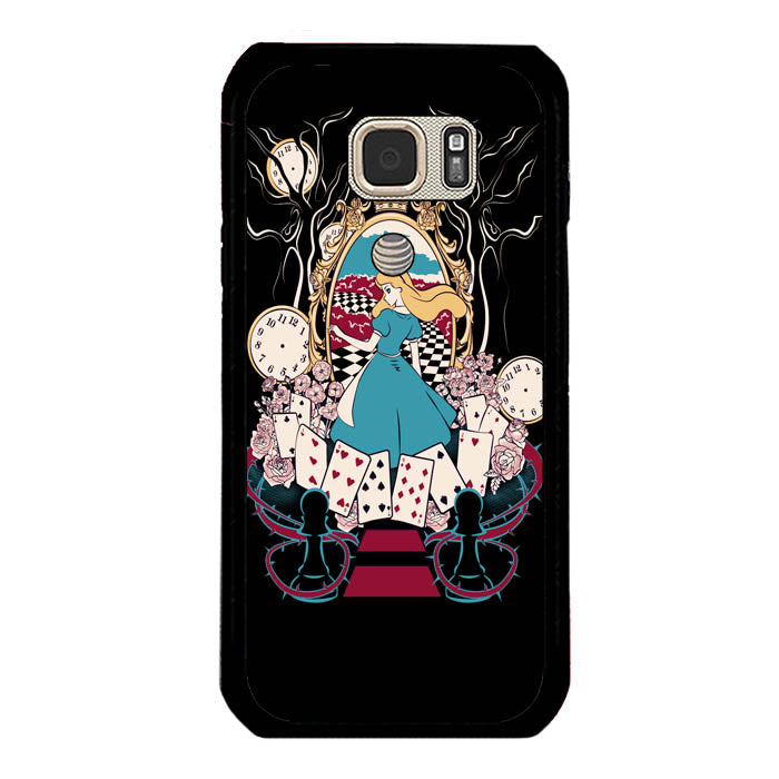 Alice in Wonderland A0510 Samsung Galaxy S7 Active Case New Year Gifts 2020-Samsung Galaxy S7 Active Cases-Recovery Case