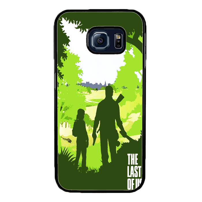 Ellie and Joel - The Last of Us A0571 Samsung Galaxy S7 Edge Case New Year Gifts 2020-Samsung Galaxy S7 Edge Cases-Recovery Case