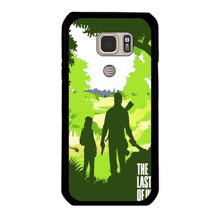 Ellie and Joel - The Last of Us A0571 Samsung Galaxy S7 Active Case New Year Gifts 2020-Samsung Galaxy S7 Active Cases-Recovery Case