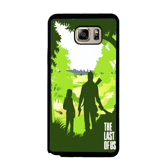 Ellie and Joel - The Last of Us A0571 Samsung Galaxy Note 5 Case New Year Gifts 2020-Samsung Galaxy Note 5 Cases-Recovery Case