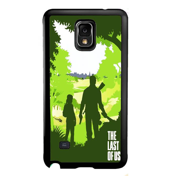 Ellie and Joel - The Last of Us A0571 Samsung Galaxy Note 4 Case New Year Gifts 2020-Samsung Galaxy Note 4 Cases-Recovery Case
