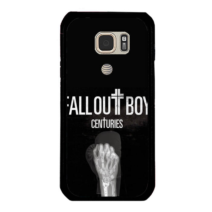 Fall Out Boy Centuries FOB Logo A0596 Samsung Galaxy S7 Active Case New Year Gifts 2020-Samsung Galaxy S7 Active Cases-Recovery Case