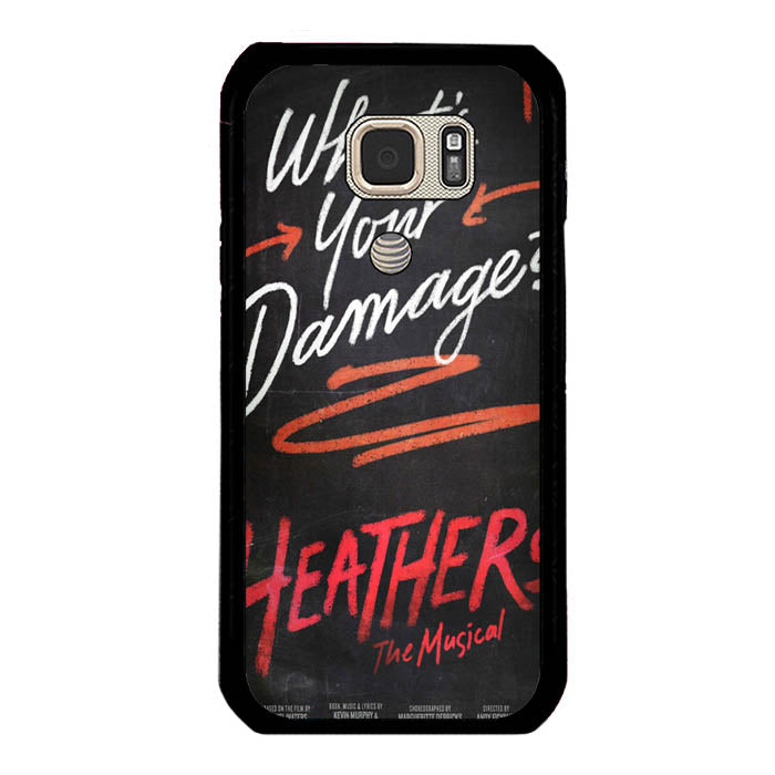 Heathers What's Your Damage - Broadway Musical A0630 Samsung Galaxy S7 Active Case New Year Gifts 2020-Samsung Galaxy S7 Active Cases-Recovery Case