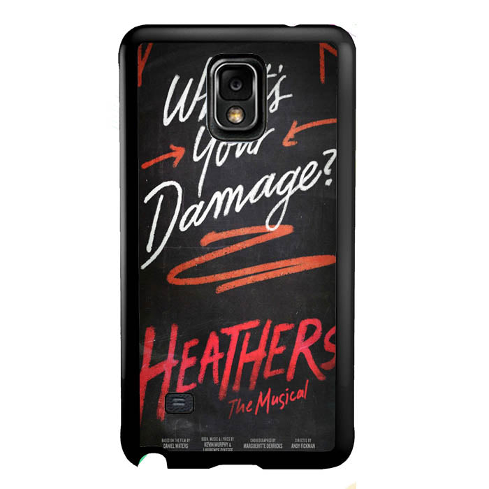 Heathers What's Your Damage - Broadway Musical A0630 Samsung Galaxy Note 4 Case New Year Gifts 2020-Samsung Galaxy Note 4 Cases-Recovery Case