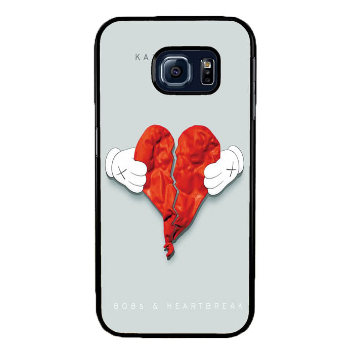 Kanye West 808s & Heartbreak A0662 Samsung Galaxy S7 Edge Case New Year Gifts 2020-Samsung Galaxy S7 Edge Cases-Recovery Case
