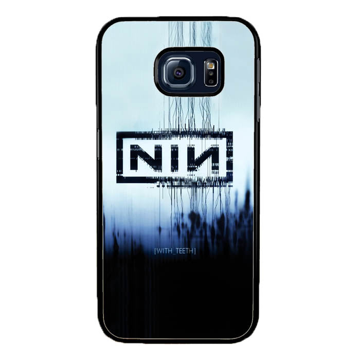 Nine Inch Nails NIN with teeth A0729 Samsung Galaxy S7 Edge Case New Year Gifts 2020-Samsung Galaxy S7 Edge Cases-Recovery Case