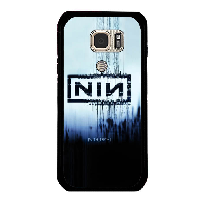 Nine Inch Nails NIN with teeth A0729 Samsung Galaxy S7 Active Case New Year Gifts 2020-Samsung Galaxy S7 Active Cases-Recovery Case
