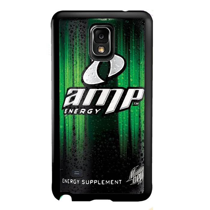 AMP Energy Drink A0982 Samsung Galaxy Note 4 Case New Year Gifts 2020-Samsung Galaxy Note 4 Cases-Recovery Case