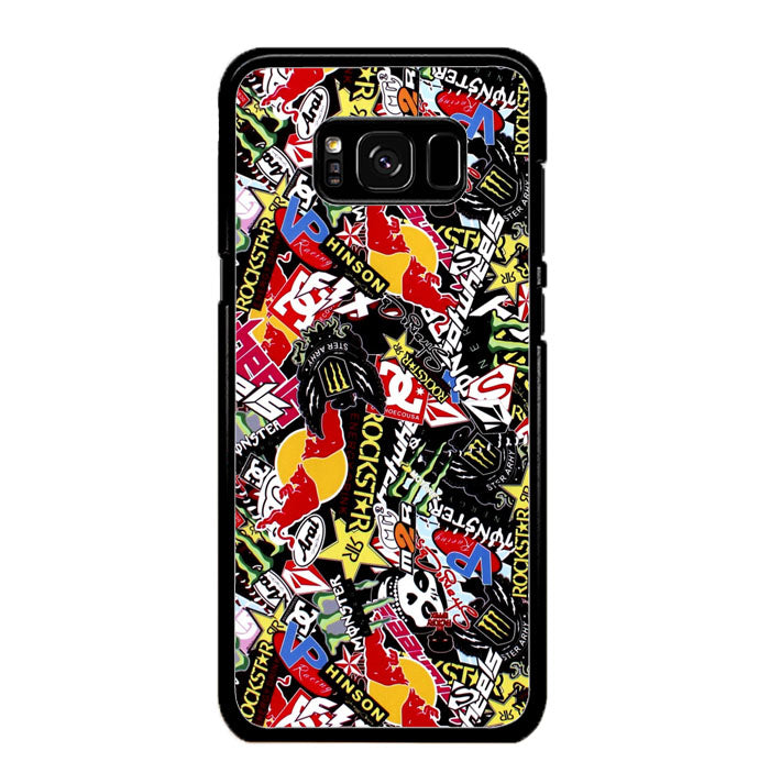GTA Gymkhana Drift King Stickerbomb Automotive A0995 Samsung Galaxy S8 Case New Year Gifts 2020-Samsung Galaxy S8 Cases-Recovery Case