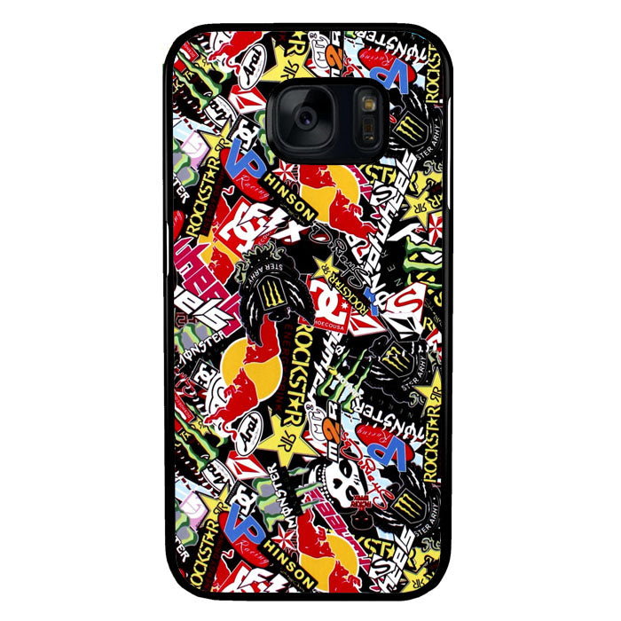 GTA Gymkhana Drift King Stickerbomb Automotive A0995 Samsung Galaxy S7 Case New Year Gifts 2020-Samsung Galaxy S7 Cases-Recovery Case