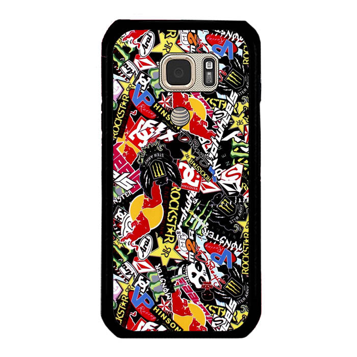 GTA Gymkhana Drift King Stickerbomb Automotive A0995 Samsung Galaxy S7 Active Case New Year Gifts 2020-Samsung Galaxy S7 Active Cases-Recovery Case