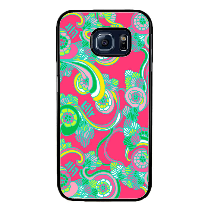 Lilly Pulitzer Scarlet Bego A1044 Samsung Galaxy S7 Edge Case New Year Gifts 2020-Samsung Galaxy S7 Edge Cases-Recovery Case