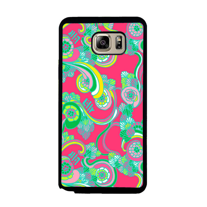 Lilly Pulitzer Scarlet Bego A1044 Samsung Galaxy Note 5 Case New Year Gifts 2020-Samsung Galaxy Note 5 Cases-Recovery Case