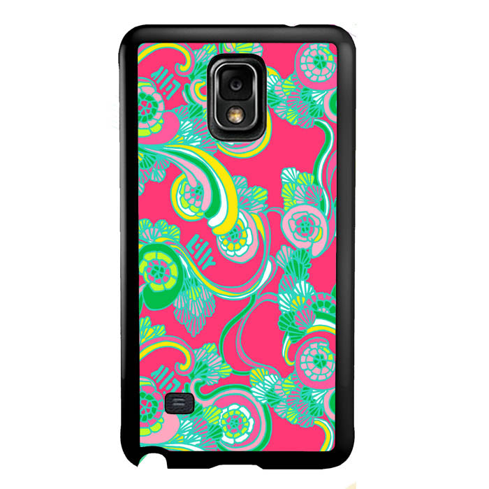 Lilly Pulitzer Scarlet Bego A1044 Samsung Galaxy Note 4 Case New Year Gifts 2020-Samsung Galaxy Note 4 Cases-Recovery Case