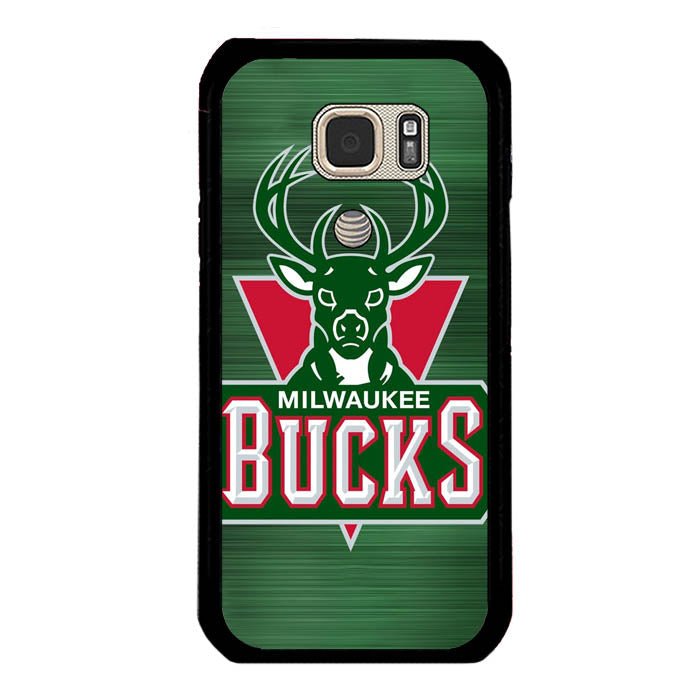 Milwaukee Bucks Basketball Team deer A1086 Samsung Galaxy S7 Active Case New Year Gifts 2020-Samsung Galaxy S7 Active Cases-Recovery Case