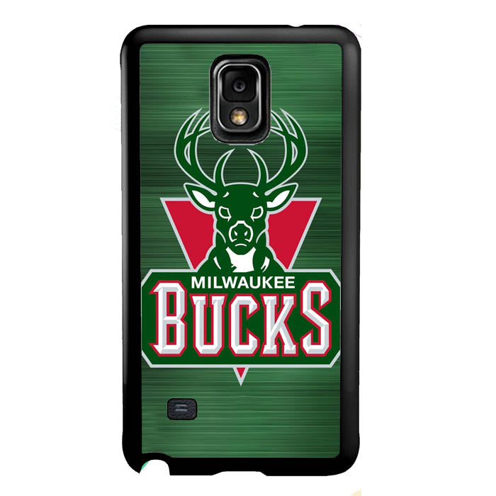 Milwaukee Bucks Basketball Team deer A1086 Samsung Galaxy Note 4 Case New Year Gifts 2020-Samsung Galaxy Note 4 Cases-Recovery Case