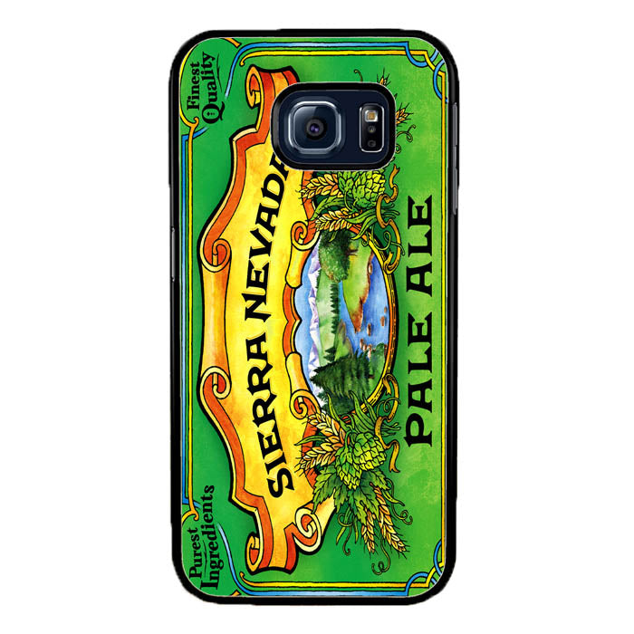 Sierra Nevada Pale Ale Beer A1157 Samsung Galaxy S7 Edge Case New Year Gifts 2020-Samsung Galaxy S7 Edge Cases-Recovery Case