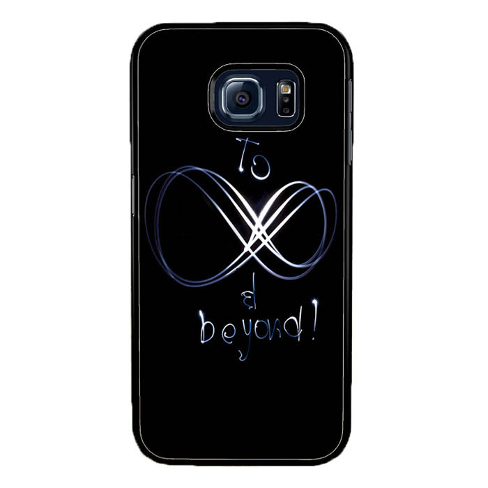 to be infinity and beyond light A1325 Samsung Galaxy S7 Edge Case New Year Gifts 2020-Samsung Galaxy S7 Edge Cases-Recovery Case