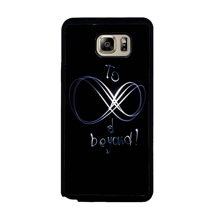 to be infinity and beyond light A1325 Samsung Galaxy Note 5 Case New Year Gifts 2020-Samsung Galaxy Note 5 Cases-Recovery Case