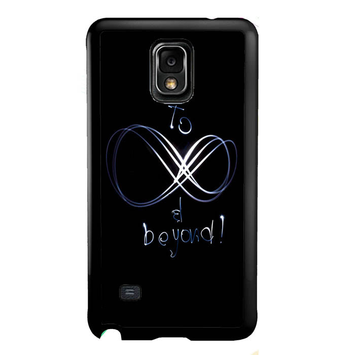 to be infinity and beyond light A1325 Samsung Galaxy Note 4 Case New Year Gifts 2020-Samsung Galaxy Note 4 Cases-Recovery Case