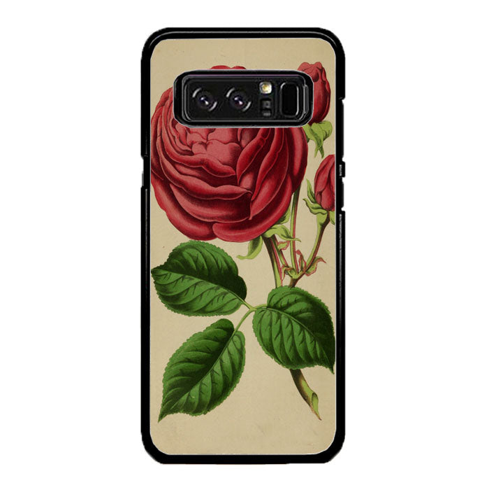 Vintage Rose A1341 Samsung Galaxy Note 8 Case New Year Gifts 2020-Samsung Galaxy Note 8 Cases-Recovery Case