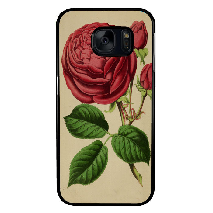Vintage Rose A1341 Samsung Galaxy S7 Case New Year Gifts 2020-Samsung Galaxy S7 Cases-Recovery Case