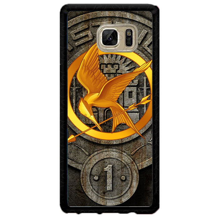 The Hunger Games Phoenix District 1 Logo Fire Arrow A1461 Samsung Galaxy Note FE Fan Edition Case New Year Gifts 2020-Samsung Galaxy Note FE Fan Edition Cases-Recovery Case