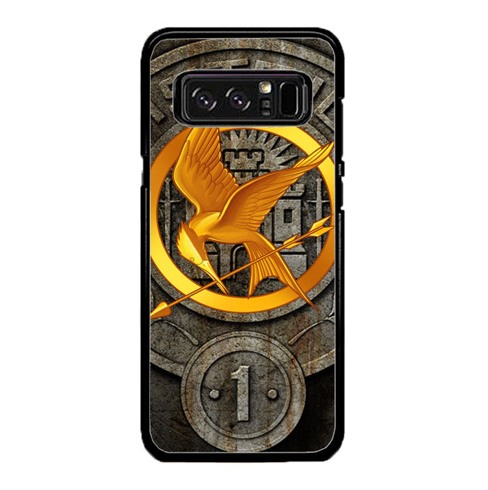 The Hunger Games Phoenix District 1 Logo Fire Arrow A1461 Samsung Galaxy Note 8 Case New Year Gifts 2020-Samsung Galaxy Note 8 Cases-Recovery Case