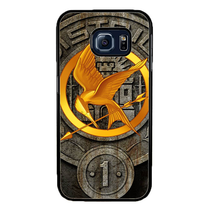 The Hunger Games Phoenix District 1 Logo Fire Arrow A1461 Samsung Galaxy S7 Edge Case New Year Gifts 2020-Samsung Galaxy S7 Edge Cases-Recovery Case