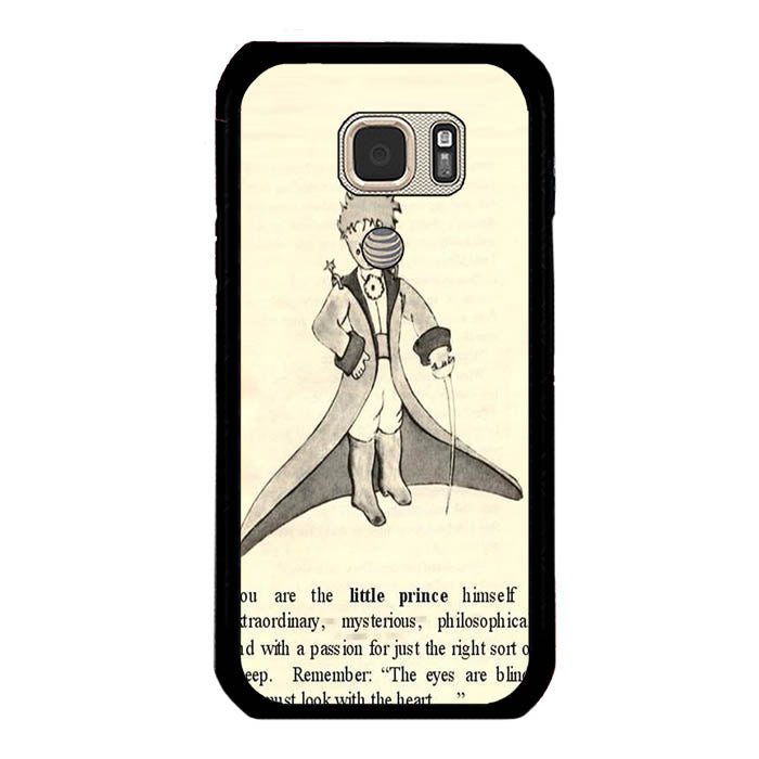 Little prince quote A1508 Samsung Galaxy S7 Active Case New Year Gifts 2020-Samsung Galaxy S7 Active Cases-Recovery Case