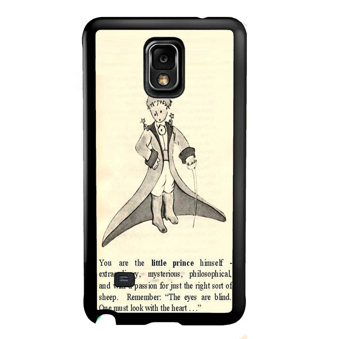 Little prince quote A1508 Samsung Galaxy Note 4 Case New Year Gifts 2020-Samsung Galaxy Note 4 Cases-Recovery Case
