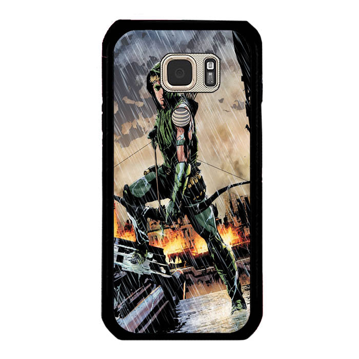 Arrow US TV series Green A1557 Samsung Galaxy S7 Active Case New Year Gifts 2020-Samsung Galaxy S7 Active Cases-Recovery Case