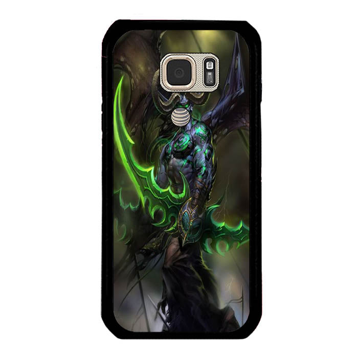 Illidan Of The Azinoth A1566 Samsung Galaxy S7 Active Case New Year Gifts 2020-Samsung Galaxy S7 Active Cases-Recovery Case