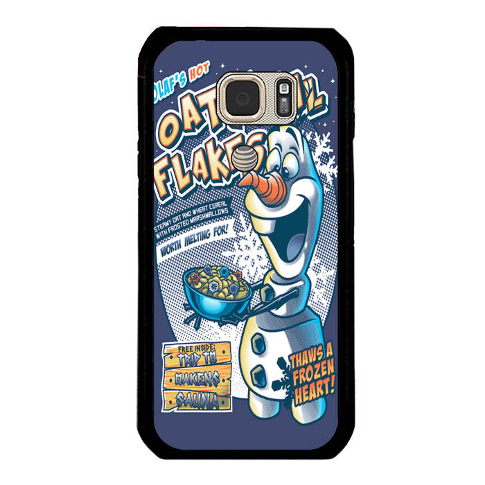 Frozen Let It Go Olaf Hot Oatmeal Flakes A1577 Samsung Galaxy S7 Active Case New Year Gifts 2020-Samsung Galaxy S7 Active Cases-Recovery Case