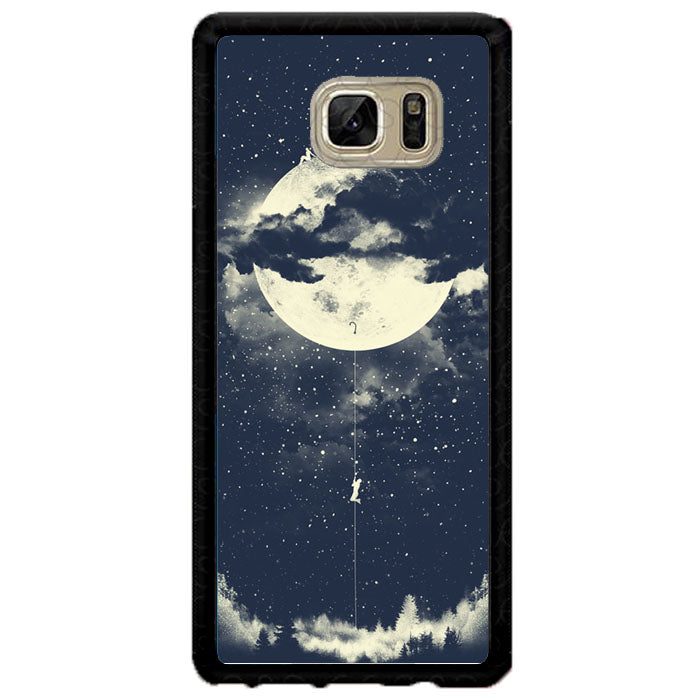 MOON CLIMBING A1693 Samsung Galaxy Note FE Fan Edition Case New Year Gifts 2020-Samsung Galaxy Note FE Fan Edition Cases-Recovery Case