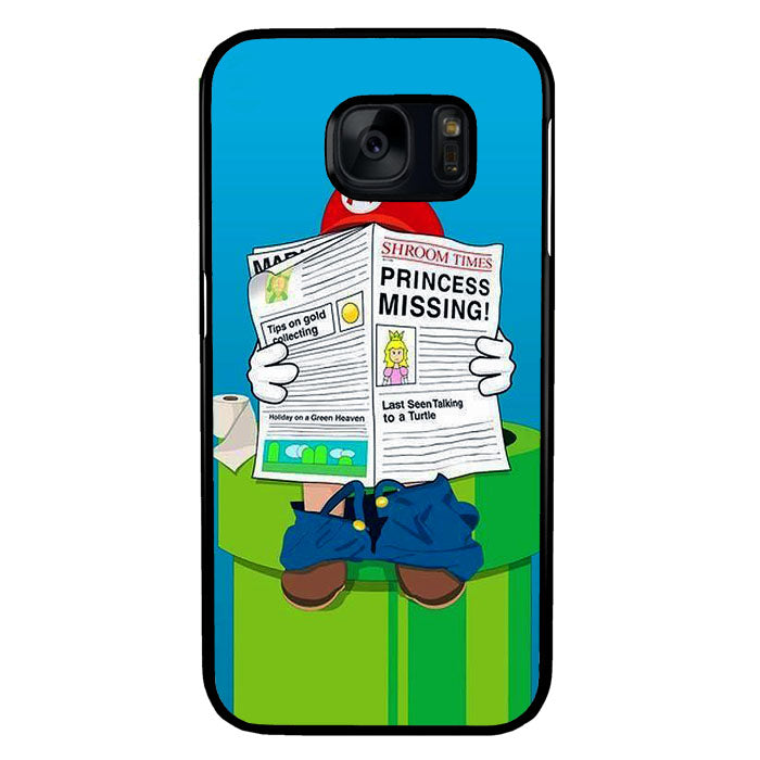 Mario A1695 Samsung Galaxy S7 Case New Year Gifts 2020-Samsung Galaxy S7 Cases-Recovery Case