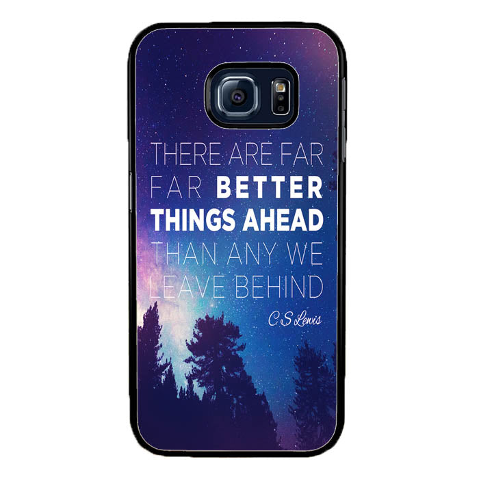 CS Lewis Better Things Ahead A1721 Samsung Galaxy S7 Edge Case New Year Gifts 2020-Samsung Galaxy S7 Edge Cases-Recovery Case