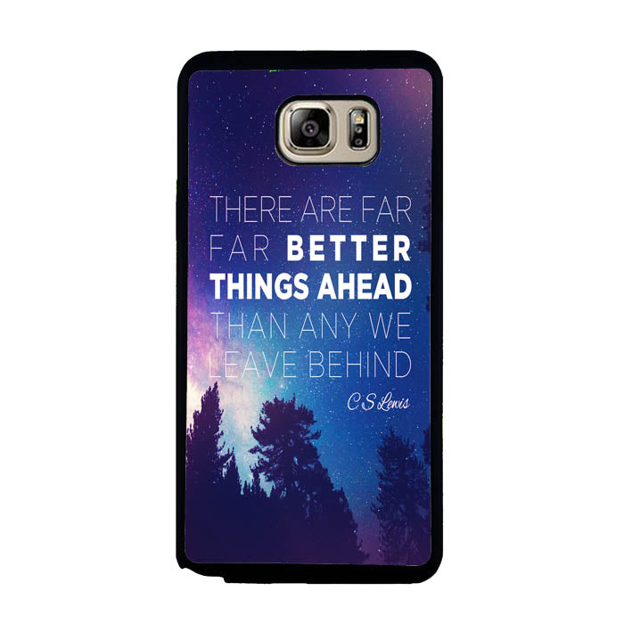 CS Lewis Better Things Ahead A1721 Samsung Galaxy Note 5 Case New Year Gifts 2020-Samsung Galaxy Note 5 Cases-Recovery Case