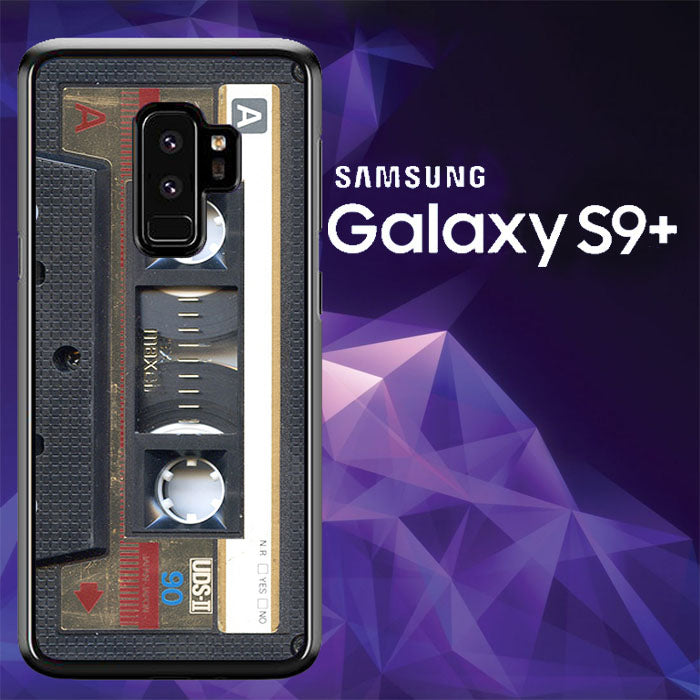 Cassette Gold A1725 Samsung Galaxy S9 Plus Case New Year Gifts 2020-Samsung Galaxy S9 Plus Cases-Recovery Case