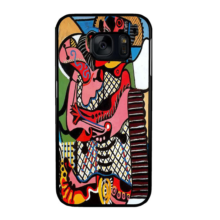 Pablo Picasso The Kiss A1769 Samsung Galaxy S7 Case New Year Gifts 2020-Samsung Galaxy S7 Cases-Recovery Case