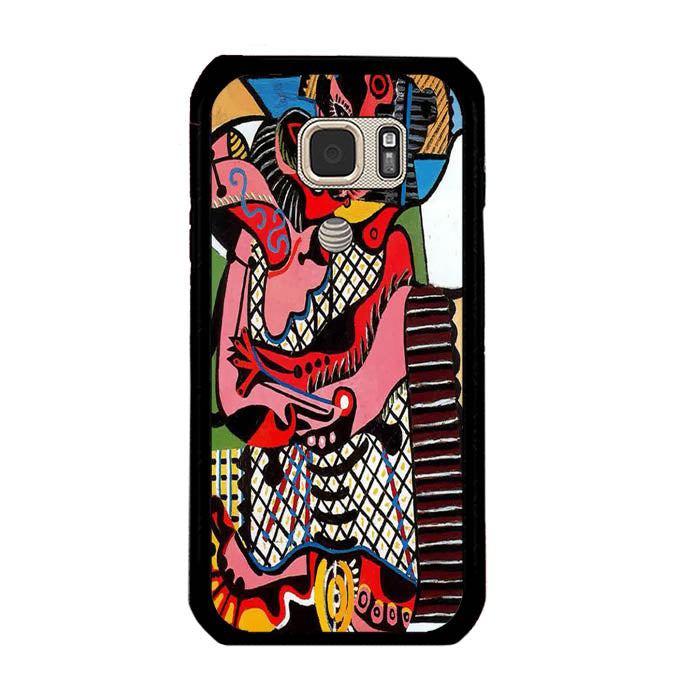 Pablo Picasso The Kiss A1769 Samsung Galaxy S7 Active Case New Year Gifts 2020-Samsung Galaxy S7 Active Cases-Recovery Case