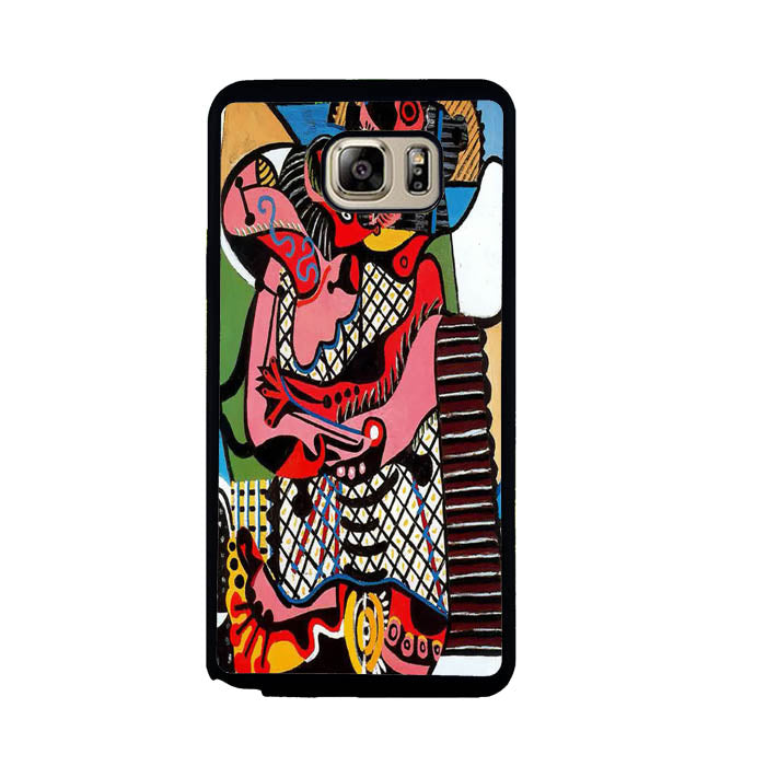 Pablo Picasso The Kiss A1769 Samsung Galaxy Note 5 Case New Year Gifts 2020-Samsung Galaxy Note 5 Cases-Recovery Case