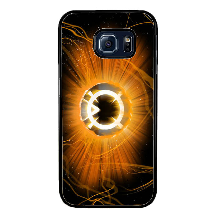 Orange Corp Ring Green Lantern A1770 Samsung Galaxy S7 Edge Case New Year Gifts 2020-Samsung Galaxy S7 Edge Cases-Recovery Case