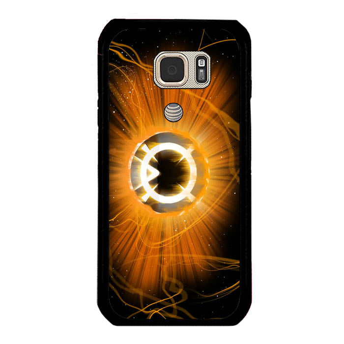 Orange Corp Ring Green Lantern A1770 Samsung Galaxy S7 Active Case New Year Gifts 2020-Samsung Galaxy S7 Active Cases-Recovery Case