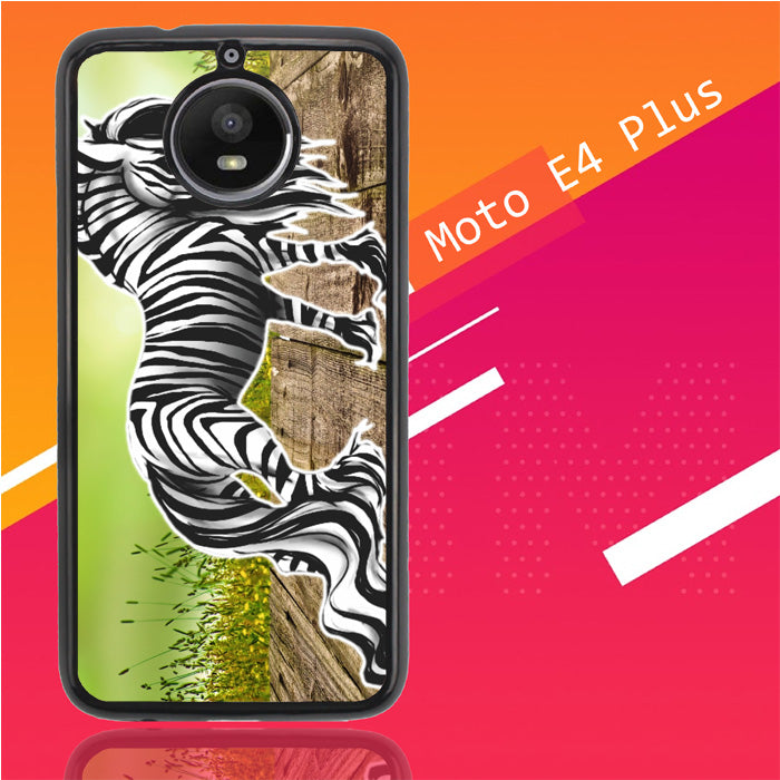 Zebra Art D0055 Motorola Moto E4 Plus Case Christmas Gifts | Xmas Presents and Gift Ideas-Motorola Moto E4 Plus-Recovery Case