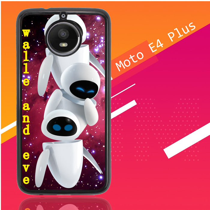 Walle And Eve D0118 Motorola Moto E4 Plus Case Christmas Gifts | Xmas Presents and Gift Ideas-Motorola Moto E4 Plus-Recovery Case