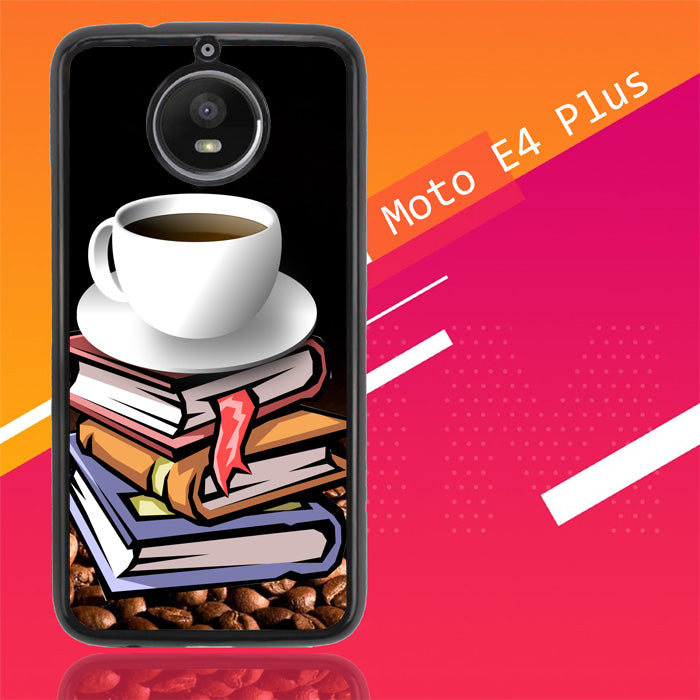 Coffee And Good Book D0160 Motorola Moto E4 Plus Case New Year Gifts 2020-Motorola Moto E4 Plus-Recovery Case